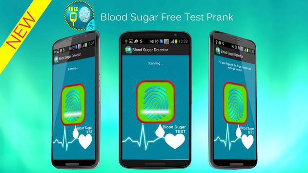 Finger Blood Sugar Test Prank apk screenshot