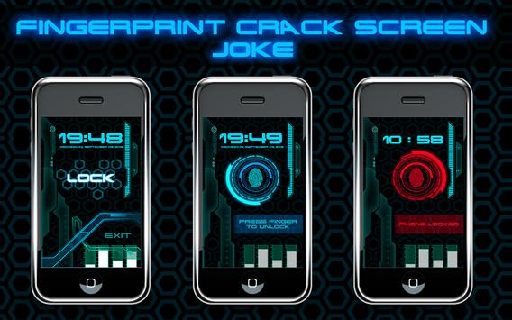Fingerprint Crack Screen Joke screenshot 4