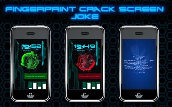 Fingerprint Crack Screen Joke screenshot 5