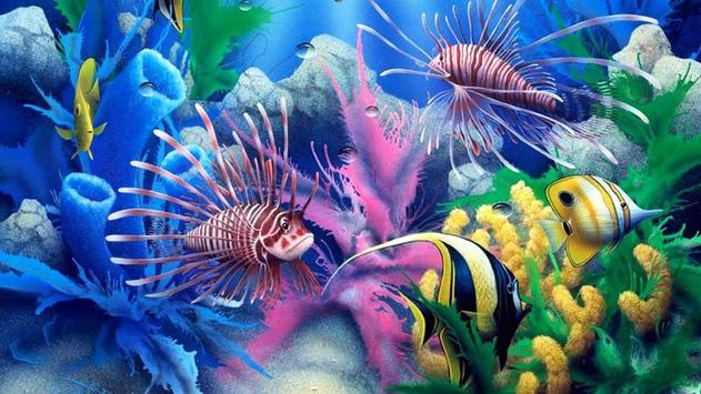 Fish Live Wallpaper apk screenshot