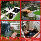 fish pond design ideas icon