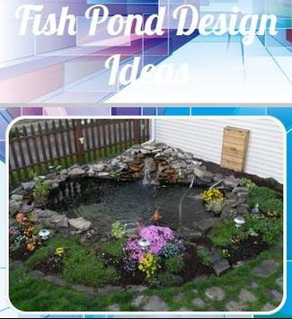 fish pond design ideas poster