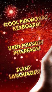 Fireworks Keyboard Wallpaper poster