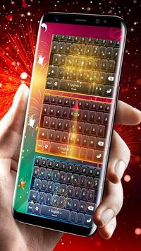 Fireworks Keyboard Wallpaper screenshot 2