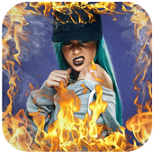 Fire Photo Effects Editor icon