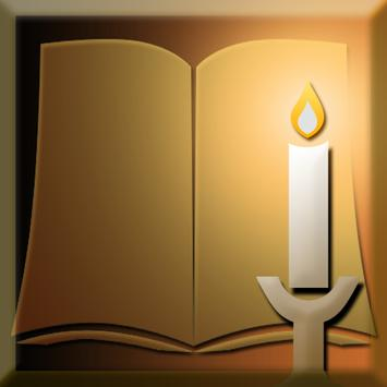 Reading Candle Light poster
