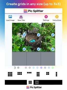 Pic Splitter Lite for Instagram apk screenshot