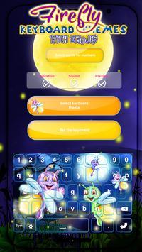 Firefly Keyboard Themes with Emojis apk screenshot