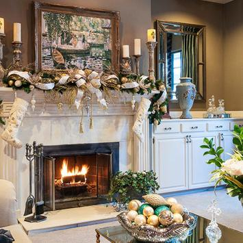 Fireplace Decorating Ideas screenshot 5