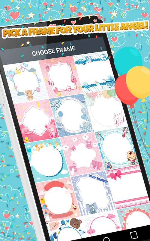 Baby Photo Editor Baby Photo Frames And Stickers For Android Apk