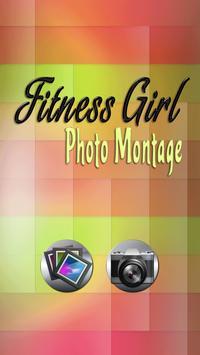 Fitness Girl Photo Montage apk screenshot