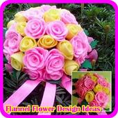 Flannel Flower Design Ideas icon