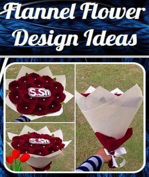 Flannel Flower Design Ideas poster