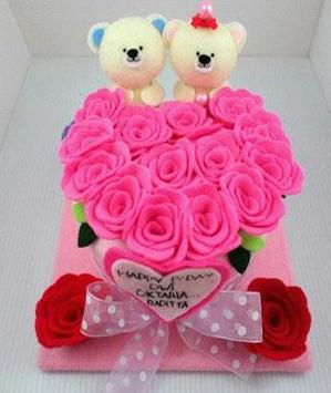 Flannel Flower Design Ideas apk screenshot