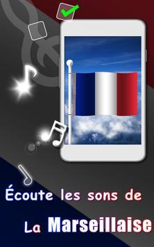 French Flag Waving Wallpaper apk screenshot