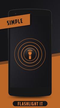 Flashlight it poster