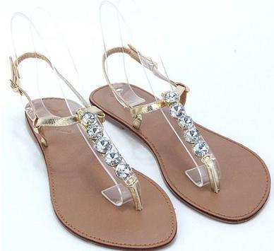 Flat Sandals Design apk screenshot
