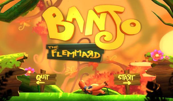 Banjo the flemmard poster