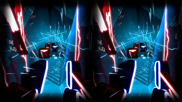 Beat Laser Saber Simulator VR poster