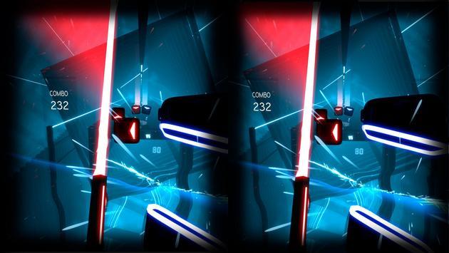 Beat Laser Saber Simulator VR screenshot 1