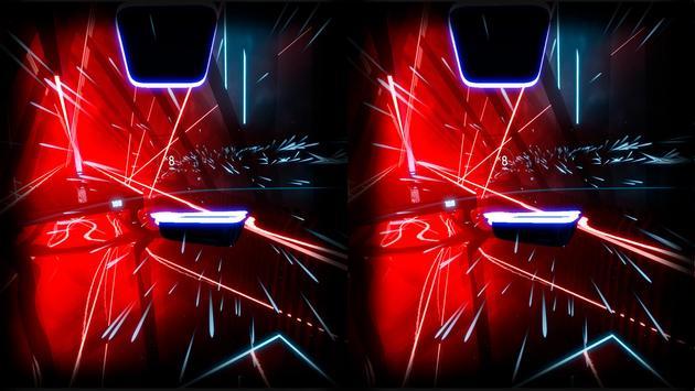 Beat Laser Saber Simulator VR screenshot 3