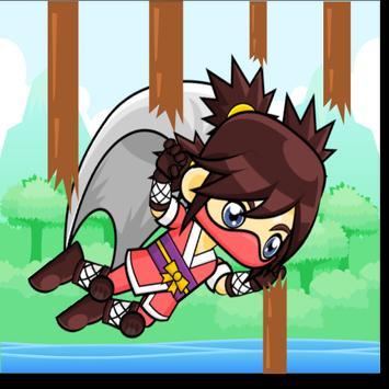 Flappy Ninja screenshot 2
