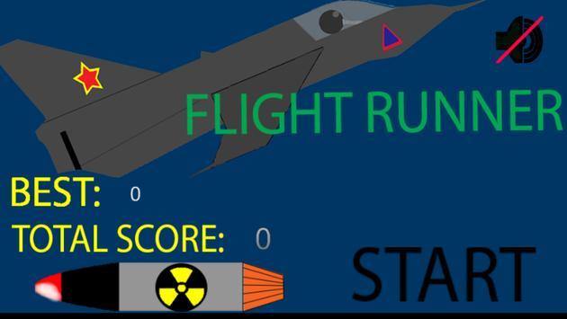 Flight runner poster