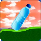 flip bottle climbing game icon