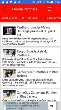 Florida Panthers All News screenshot 4