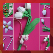 100 Flower Making Step By Step icon