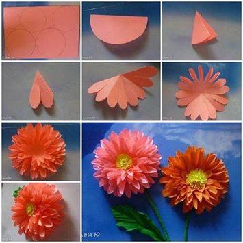100 Flower Making Step By Step poster