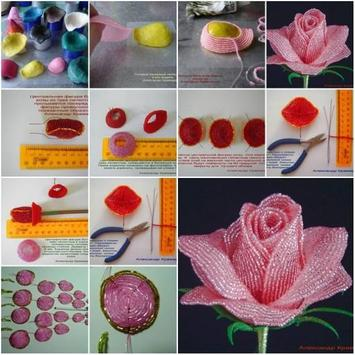 100 Flower Making Step By Step apk screenshot