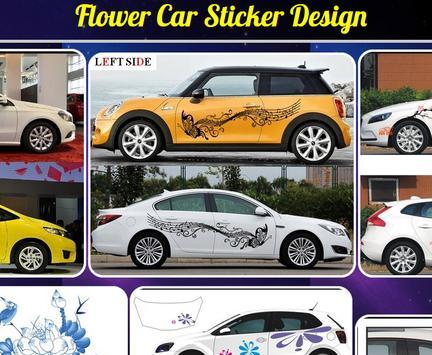 Flower Car Sticker Design screenshot 3