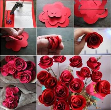 Flower Craft Tutorial poster