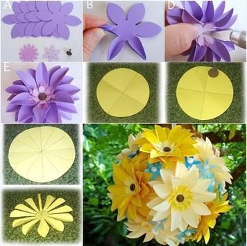 Flower Craft Tutorial apk screenshot