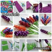 DIY Flower Craft Tutorials icon