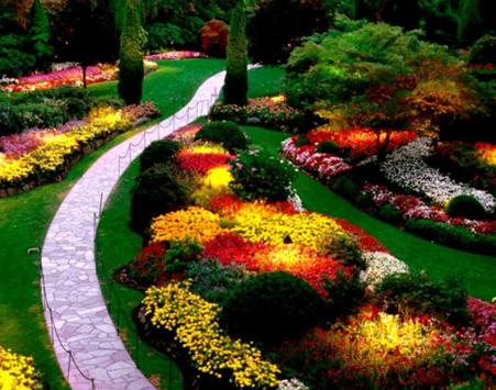 Flower Garden Design Ideas screenshot 1