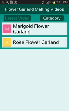 Flower Garland Making Videos screenshot 2