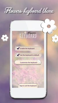 Flower Keyboard Themes poster