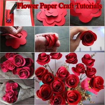 Flower Paper Craft Tutorials poster
