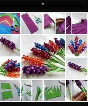 Flower Paper Craft Tutorials screenshot 13