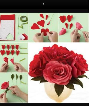 Flower Paper Craft Tutorials screenshot 1