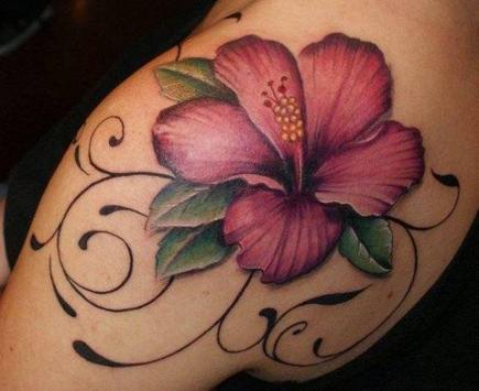 Flower Tatoo Design Ideas apk screenshot