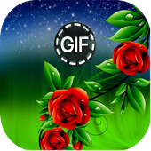 Flowers Live Animated Images gif icon