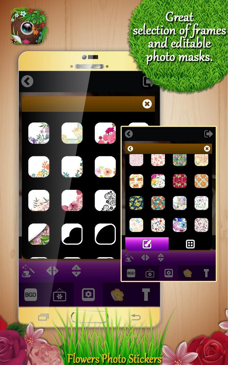 Flowers Photo Stickers For Android Apk Download