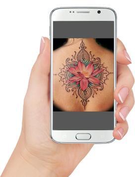 flower tattoos poster