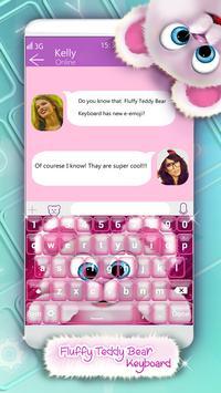 Fluffy Teddy Bear Keyboard screenshot 4