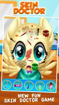 Fluttershy Skin Doctor Salon poster