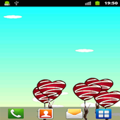 Flying monkey Live Wallpaper icon