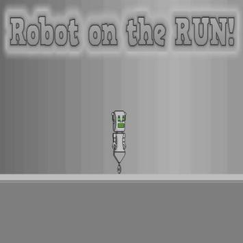 Robot on the RUN! poster